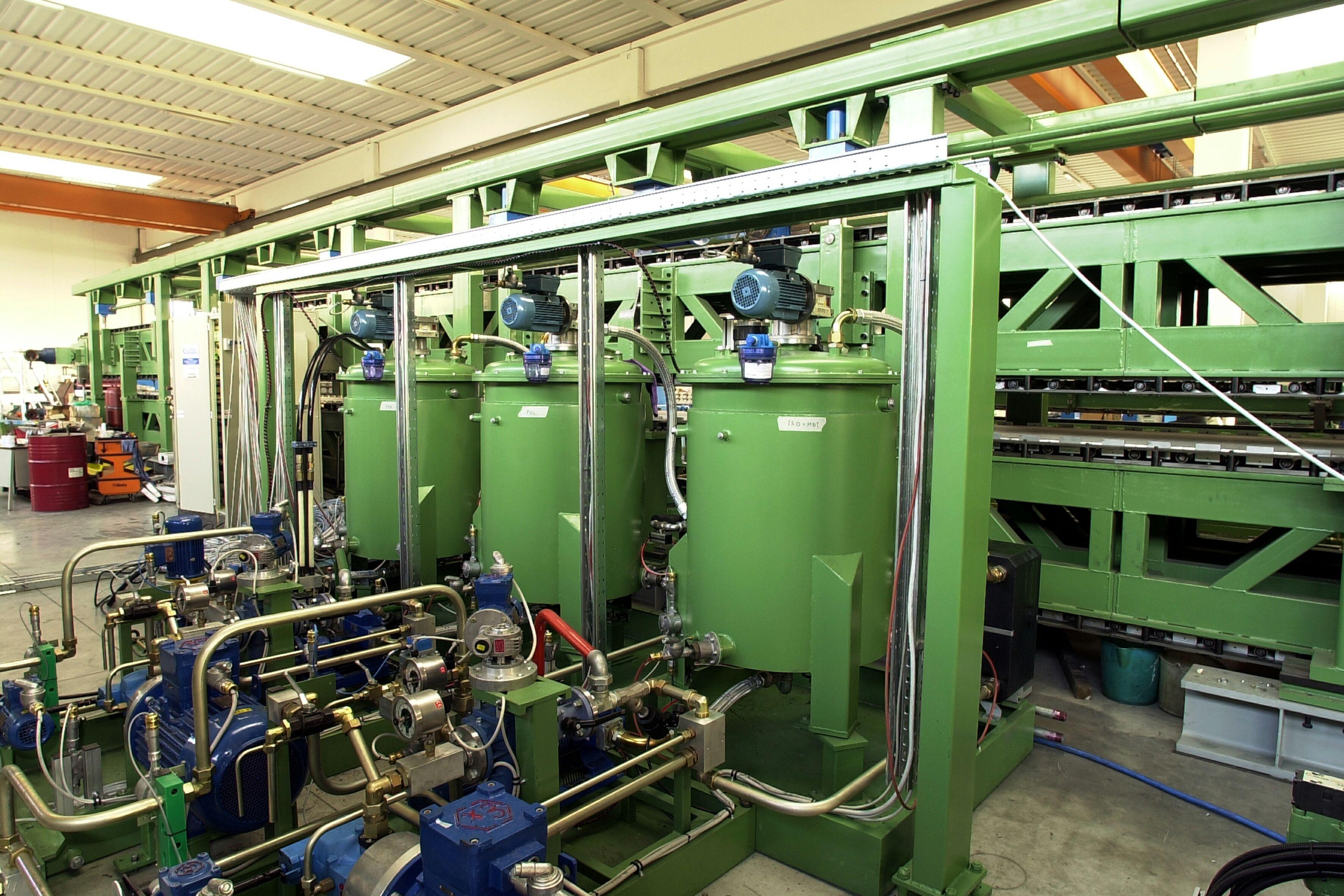 Bi-Component Glue Metering Machine