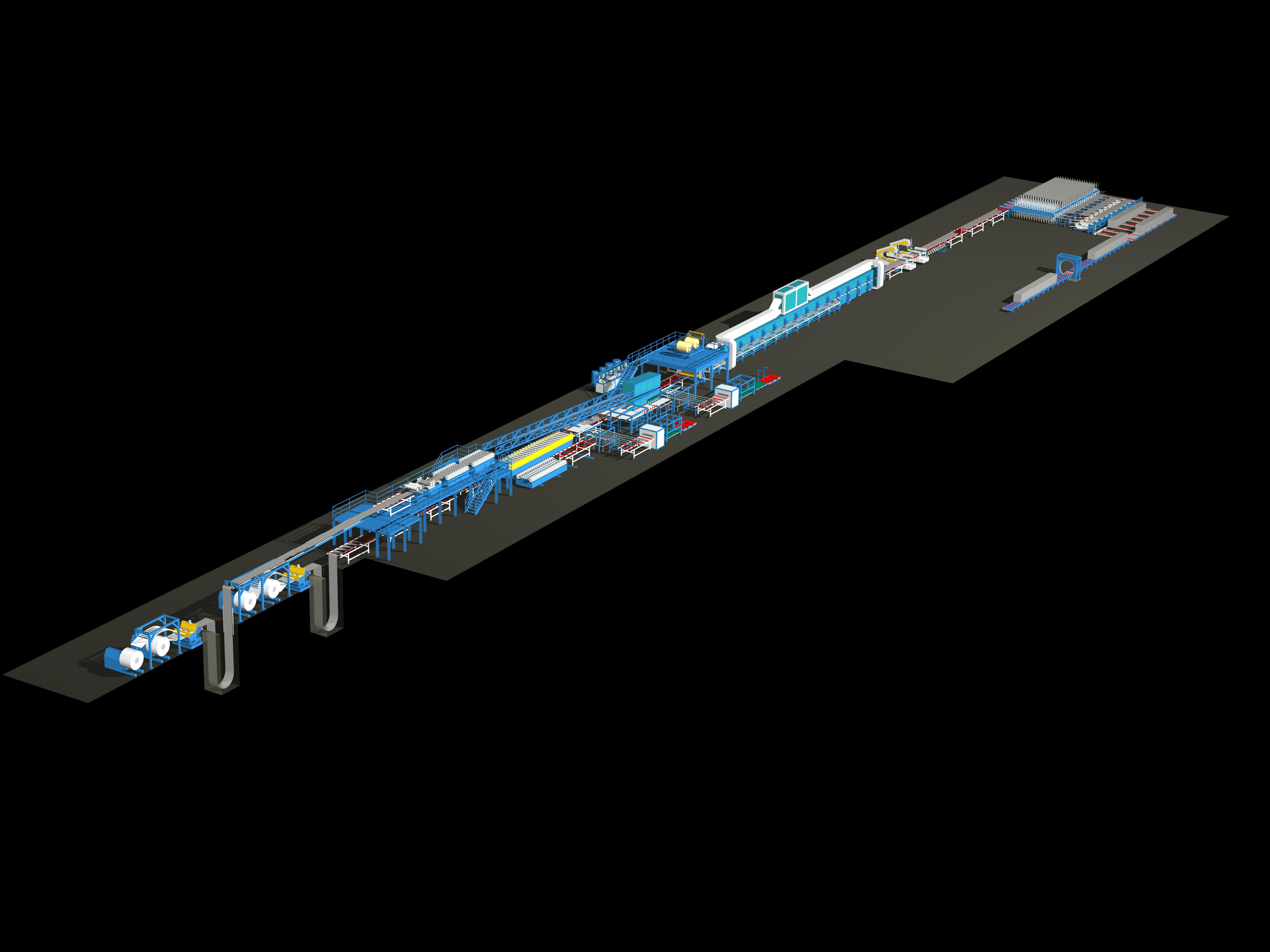 Continuous Insulated Panel Line