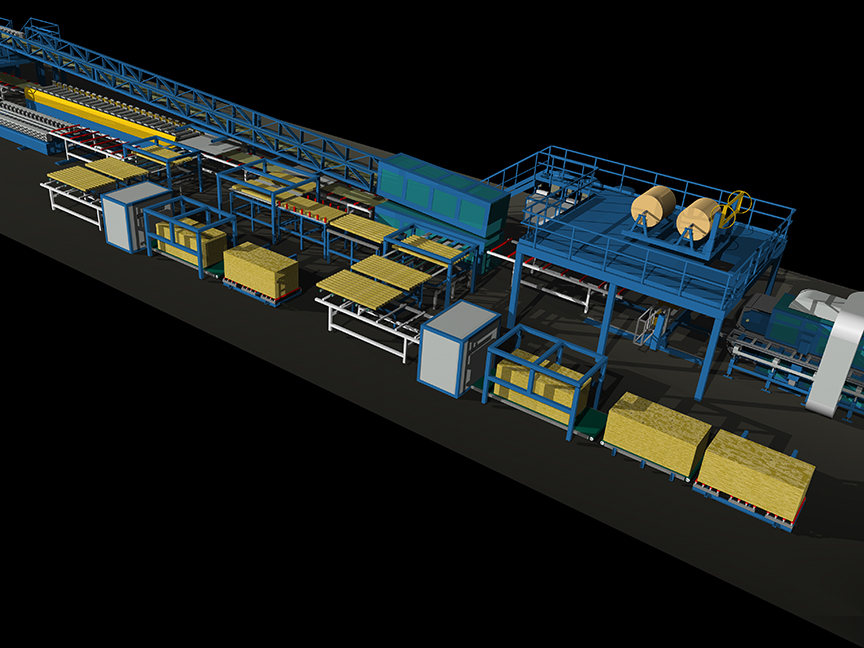 Mineral Wool Working Equipment