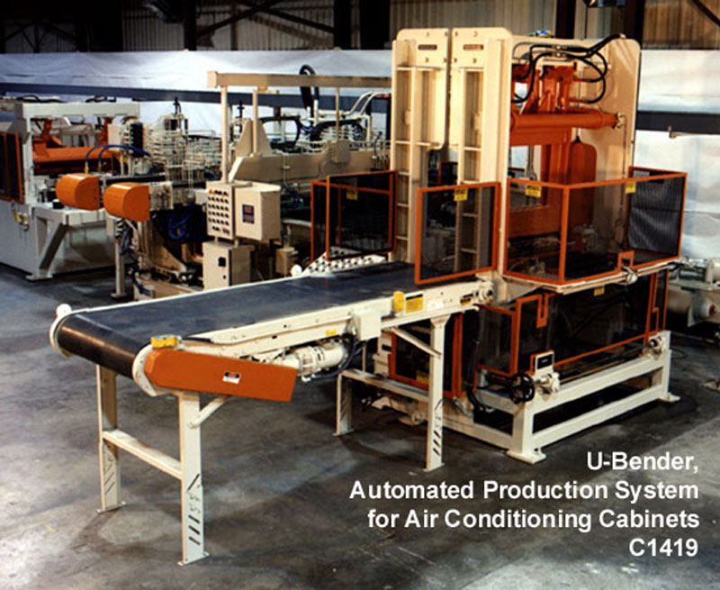 Automated Production Systems: U-Bender for Air Conditioning Cabinets