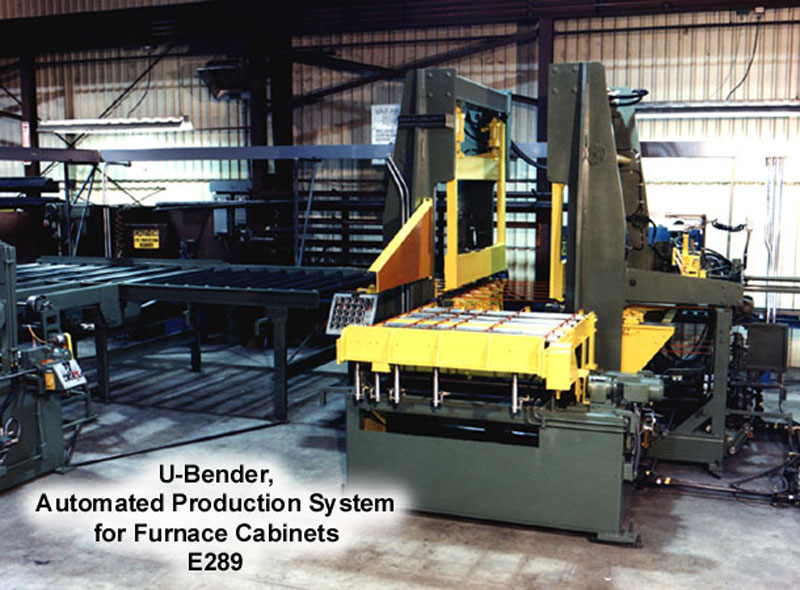 Automated Production Systems: U-Bender for Furnace Cabinets