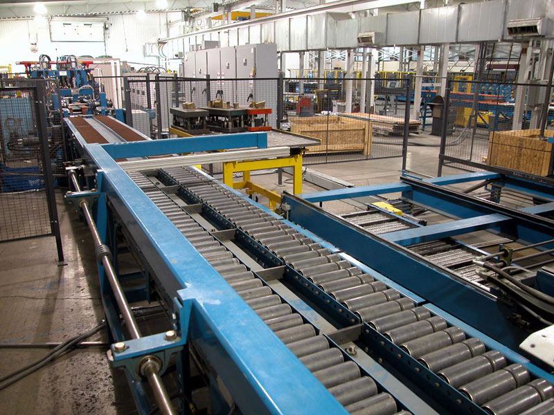 Automated Production with Conveyor system