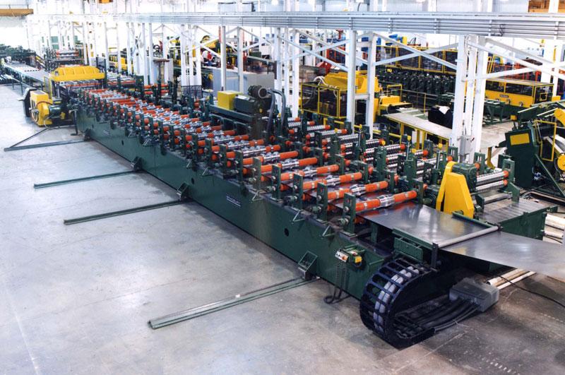 Bradbury Traversing Double wide Decking Rollforming System
