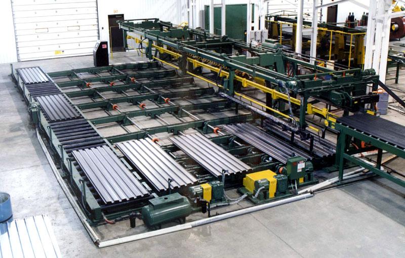 Bradbury Steel Decking Stacking Systems