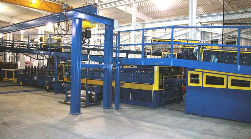 Sectional Rollforming Line for Garage Doors