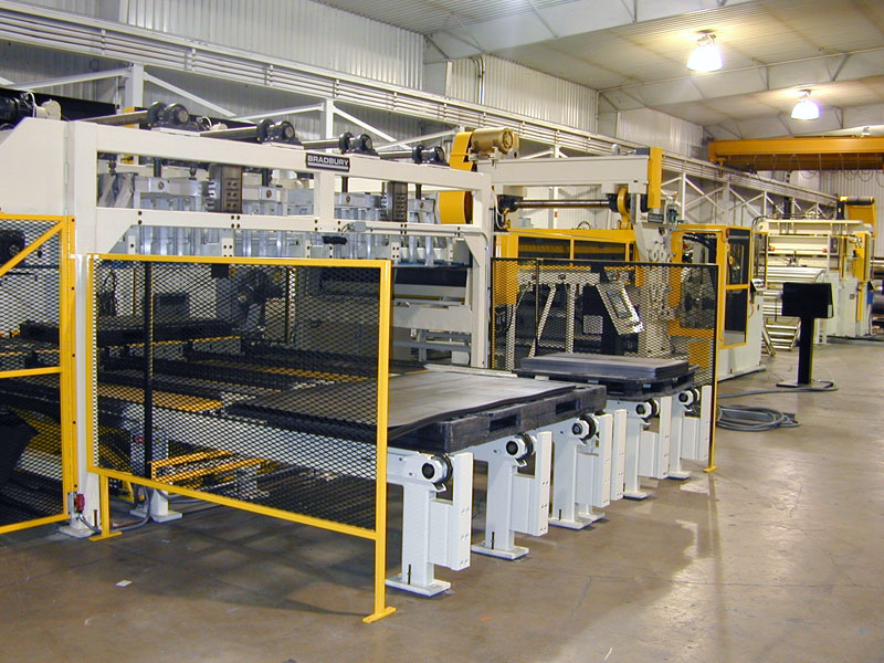 Coil processing for the HVAC Industry