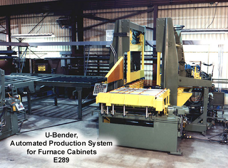 U bender for Furnace Cabinets