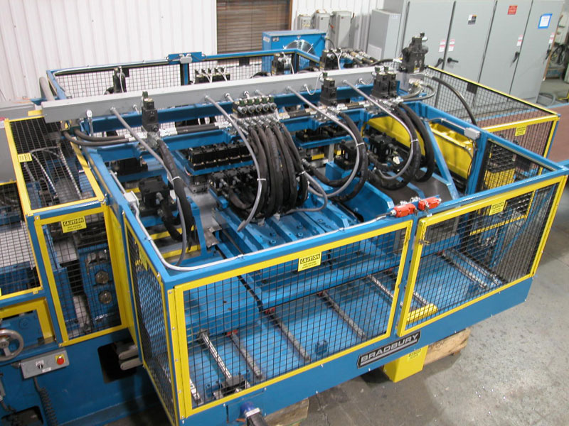 Hydraulic press system for the HVAC Industry
