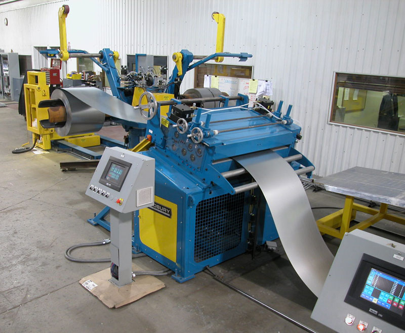 Rollforming line for the HVAC Industry