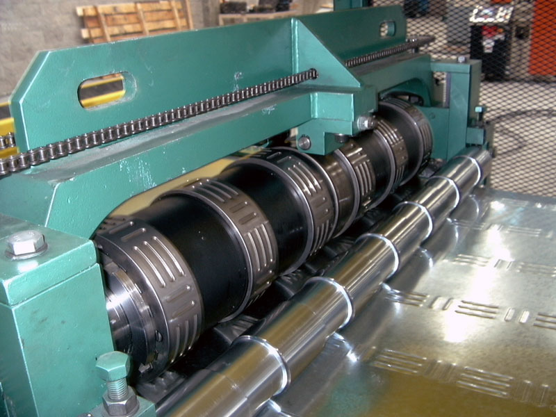 Hayes Decking Embossing Station