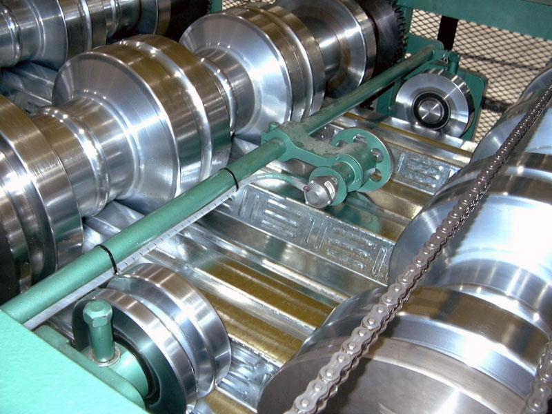 Hayes Steel Deck Rollformer