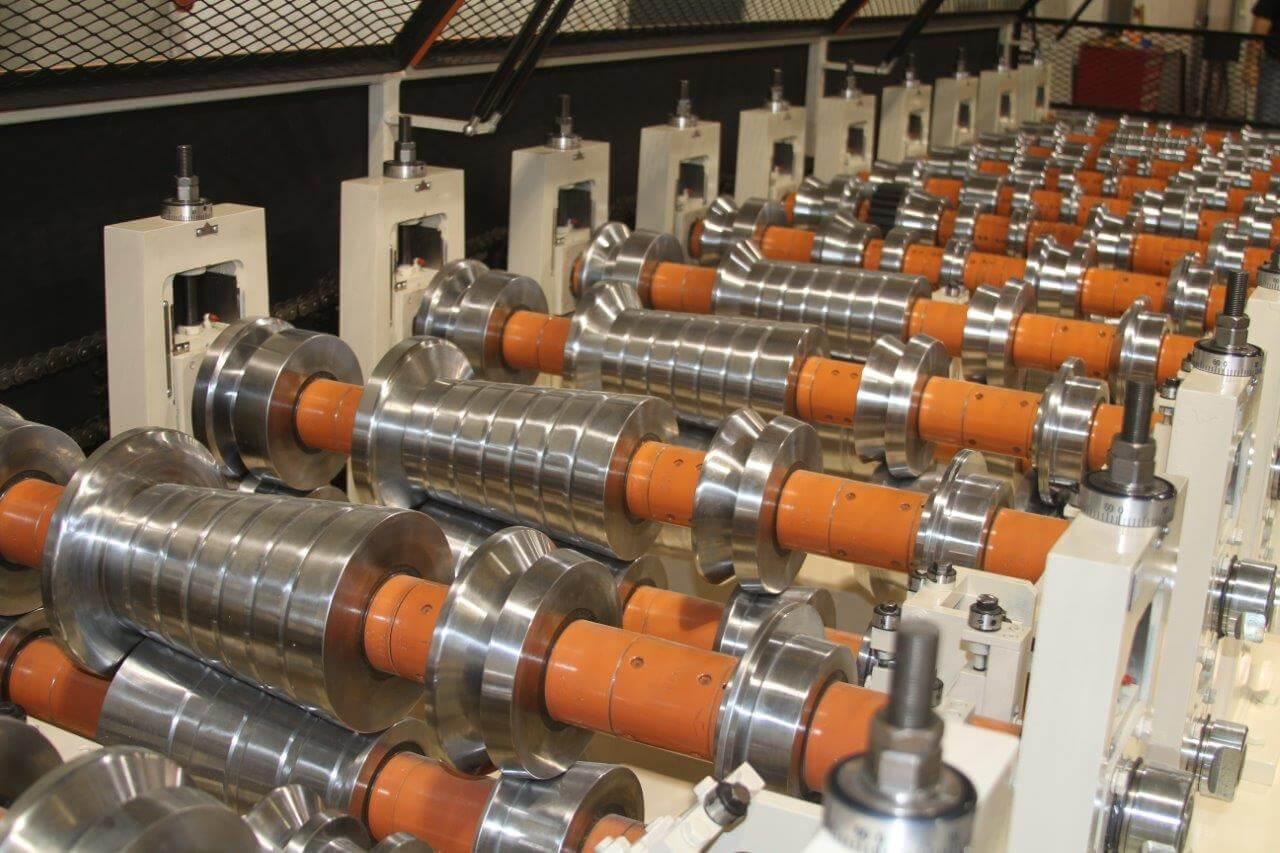 Bradbury Multi Profile Trim Rollforming Line