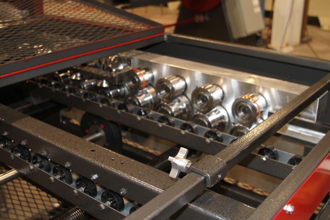 Bradbury H2 Hemmer Roll tooling