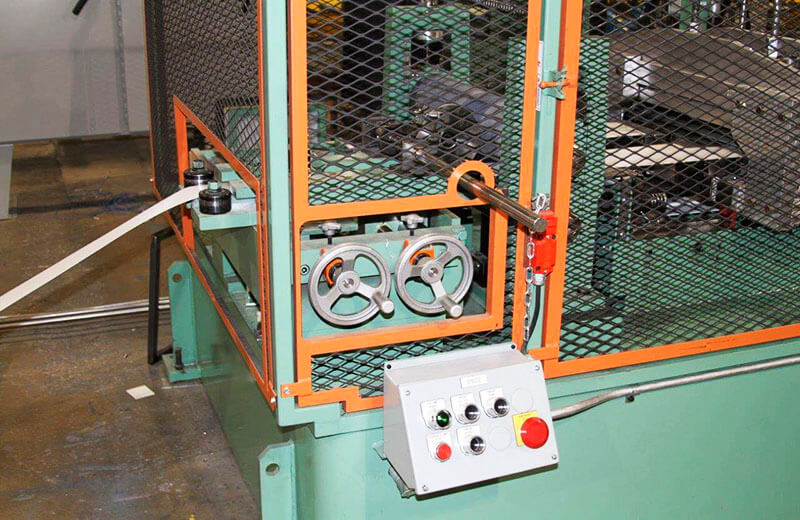 Bradbury Trim Rollforming Line From Coil