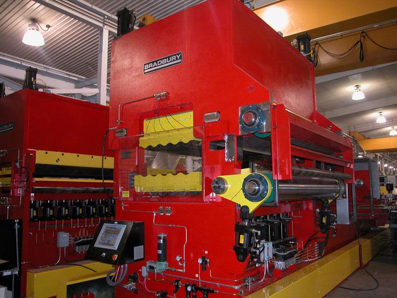 Bradbury Heavy Gauge Roller Leveler