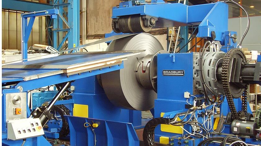 SRSM-50 Single Mandrel Uncoiler