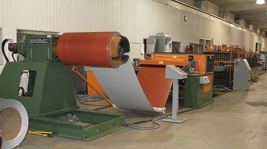 SRSM-20 Single Mandrel Uncoiler