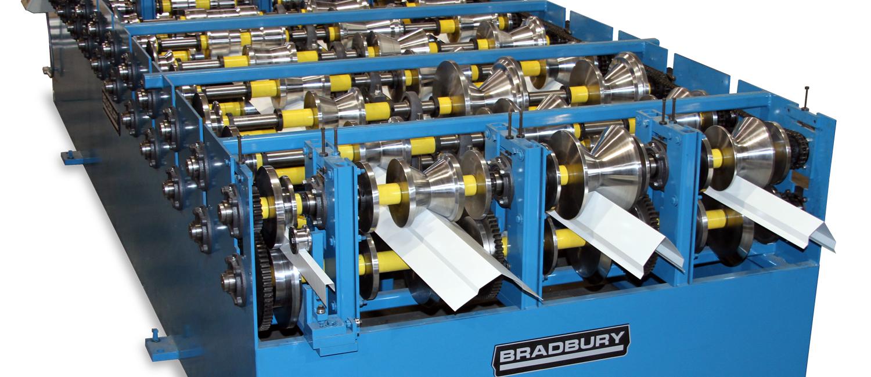 Multi profile trim rollformer