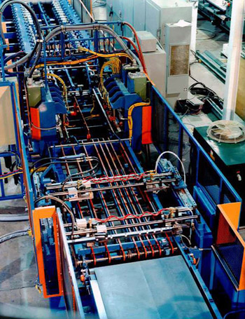 Commercial Shelving Line