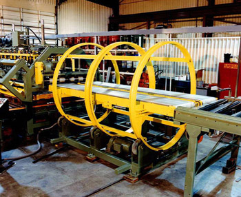 Barrel Part Turnover with Magnetic Conveyors