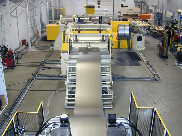 Bradbury Cut-To-Length Coil Processing Line