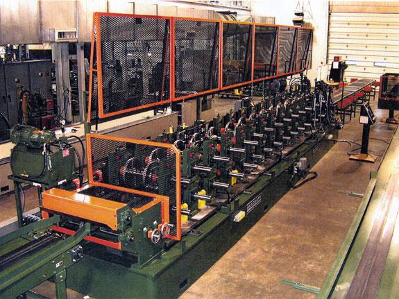 Bradbury QTR™ Purlin Rollformer