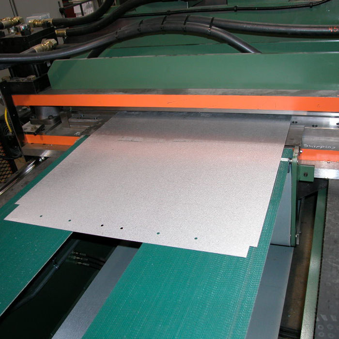 Bradbury Patriot Shear Punching and Notching for SSR Panel