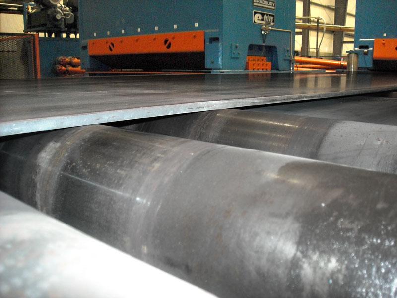 Bradbury eDrive™ Sheet Metal Leveling System