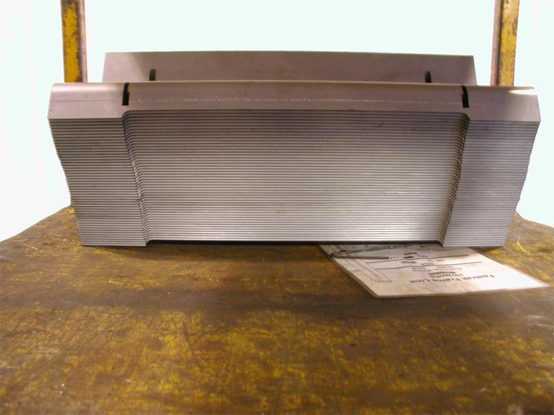 Leveled Flat Laser Cut Parts Stacked