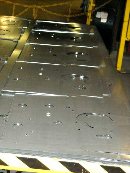 Leveled Flat Laser Cut Parts