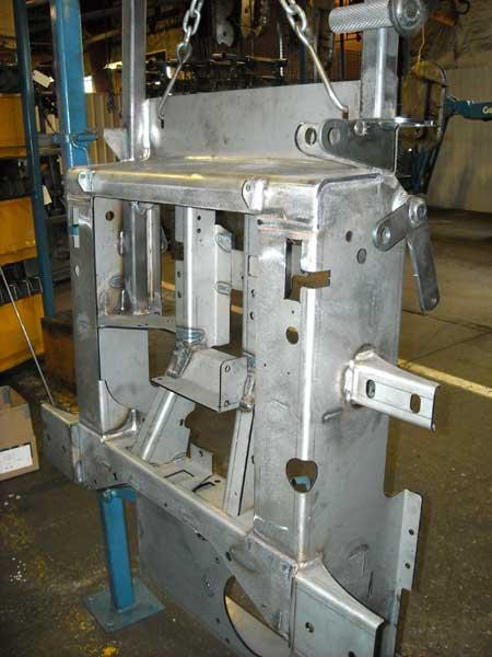 Leveled Flat Laser Cut Parts Weldment