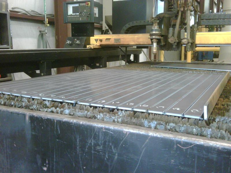 eDrive Leveled Flat Laser Cut Parts