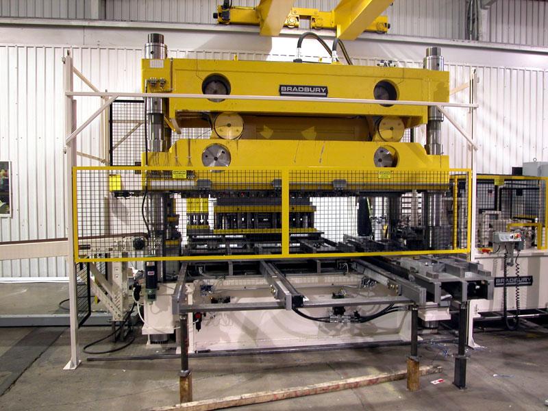 Bradbury Press system for Lighting Roll forming Equipment