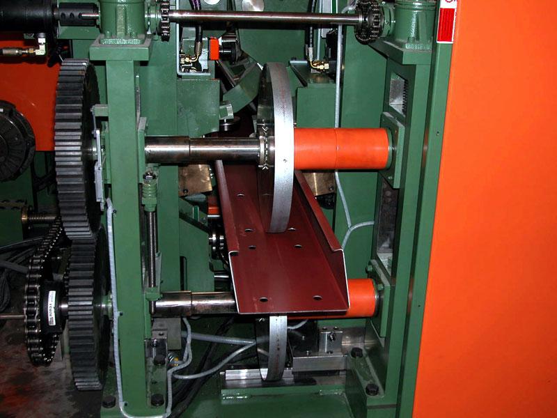 Bradbury QTR™ Purlin Rollformer Eave Strut