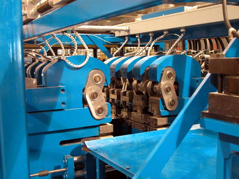 Bradbury QTR™ Purlin Rollformer Hi Speed Punch Presses