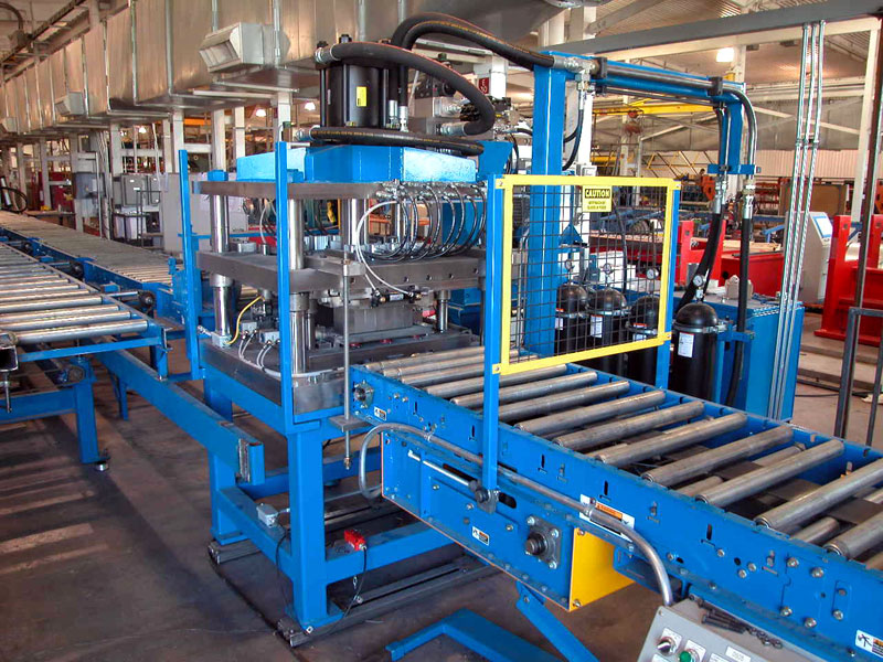 Bradbury QTR™ Purlin Rollformer Post Press