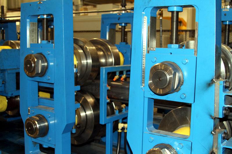 Bradbury Chord Rollforming Equipment for the Railroad Industry