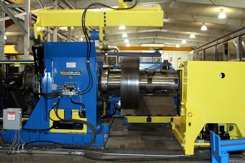 Coil Car and Decoiler Equipment for the Railroad Industry