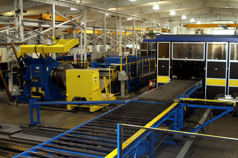 Bradbury Roll forming Equipment for the Railroad Industry Exit View