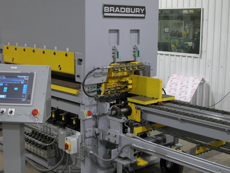 Bradbury Leveler Rollstack Removal