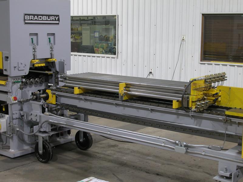 Bradbury Leveler Roll stack Removal