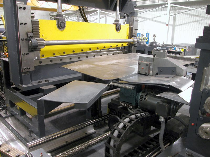 Grain Bin Roofing Rollforming Equipment with Bias Head Slitter