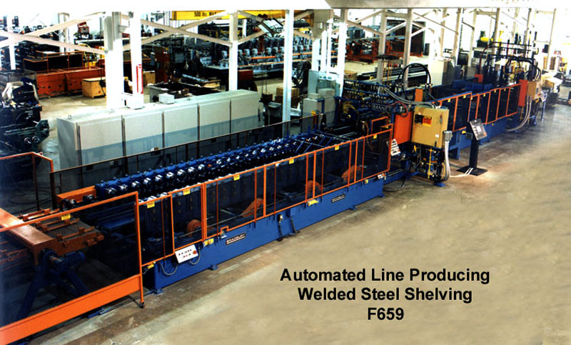 Shelving and Racking Production line