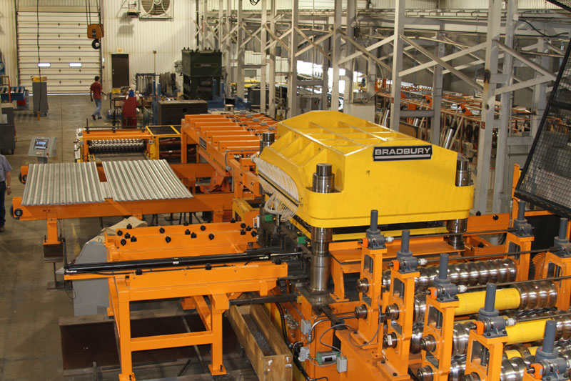 Grain Bin Sidewall Roll forming Production Line