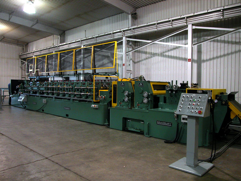 Bradbury AM300 Structural Steel Framing Equipment