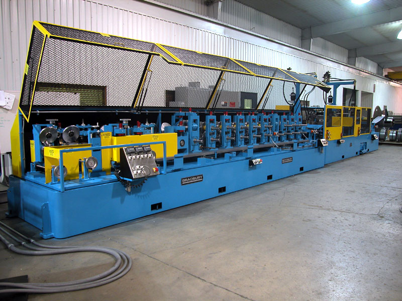 Bradbury High Production Structural Steel Framing Equipment
