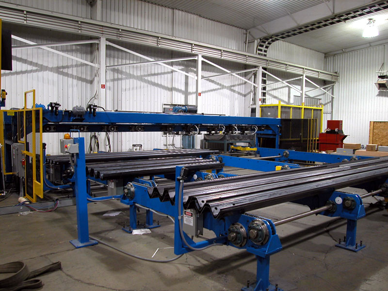 Bradbury Transportation & Highway Rollforming Lines for Guardrails, W-Beams, Thrie Beam and More
